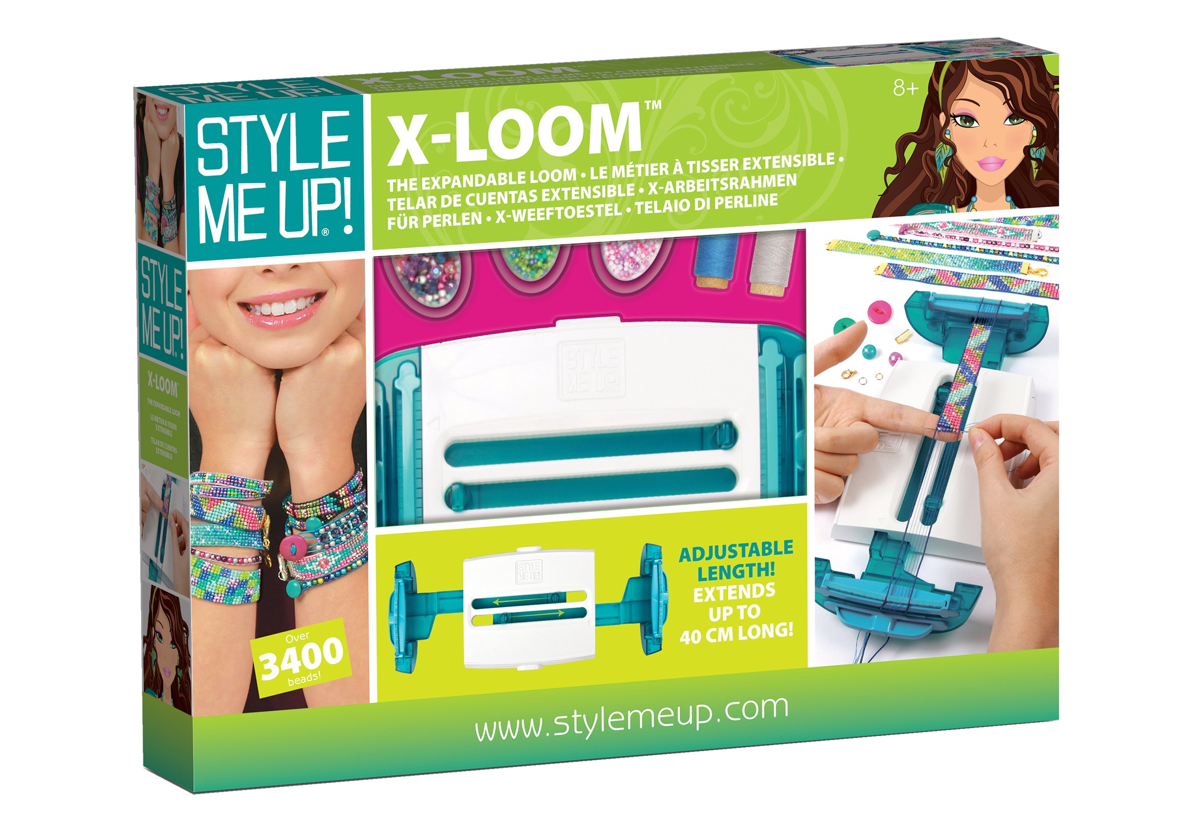 Wooky Entertainment Style Me Up! x -Loom Kit-Adjustable Beads Up to 18'' by Wooky Entertainment (Image #7)