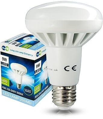 Pour 9 Blanc Ampoule W Remplacement Froid Led R27 Réflecteur UpzMVS