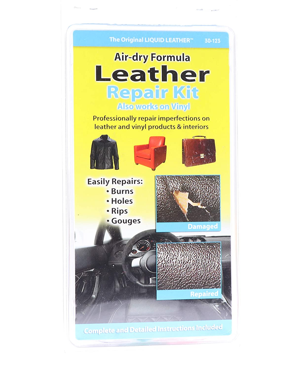 Amazon.com: No Heat! Kit de líquido para reparar piel ...