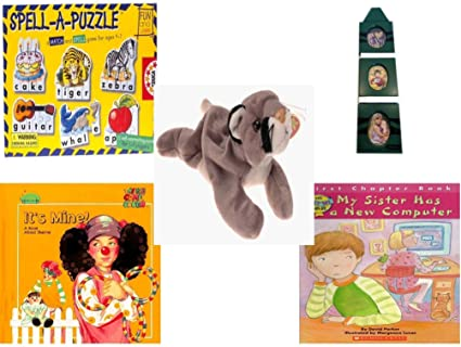 Amazon Childrens Gift Bundle Ages 3 5 5 Piece Spell A
