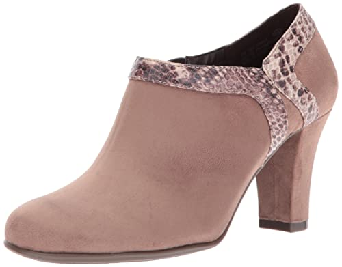 Aerosoles Women's Day Strole Boot, Taupe Snake, ...