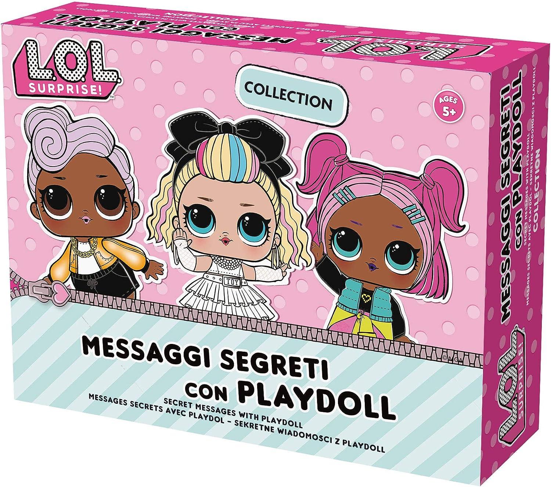 Lisciani mensajes Secrets LOL Surprise 73801, Rosa , color/modelo surtido: Amazon.es: Juguetes y juegos