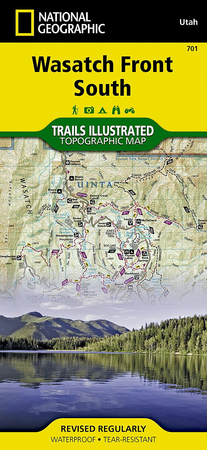 Wasatch Front South (National Geographic Trails Illustrated Map ...