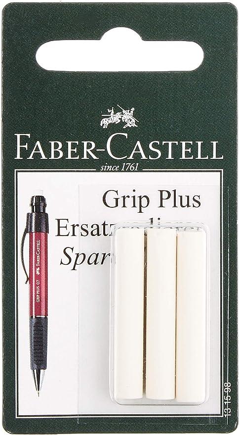 4 gomas de recambio para portagomas y sacapuntas Faber Castell