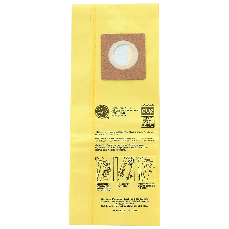 Amazon.com: Hoover hvrah10243 hushtone aspiradora bolsas ...