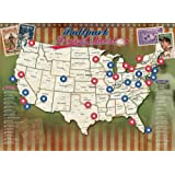 Amazon Price History for:Ballpark Travel Quest Poster Set