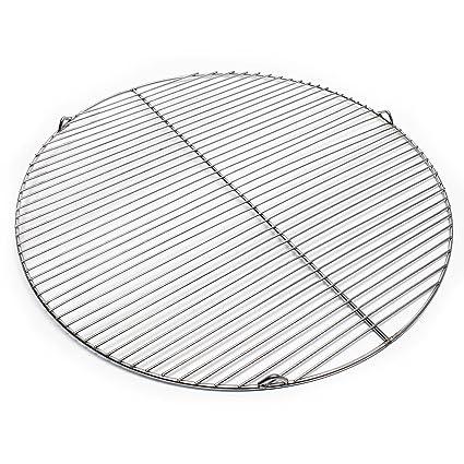 Rejilla grill parrilla redonda acero inoxidable 64,5 cm ...