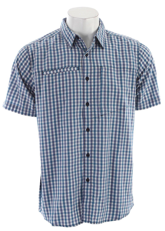 The North Face S/S Curbar Woven Shirt blau