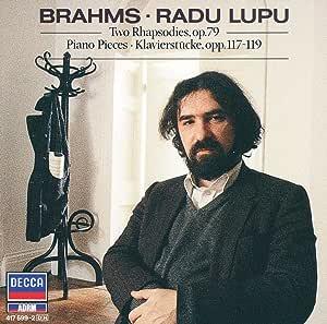 Brahms Rhapsodies Piano Pieces