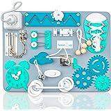 Busy Board for 1 Year Old – Montessori Board - Toddler Sensory Board – Locks Latches Board – Busy Cube – Activity Board – Wal