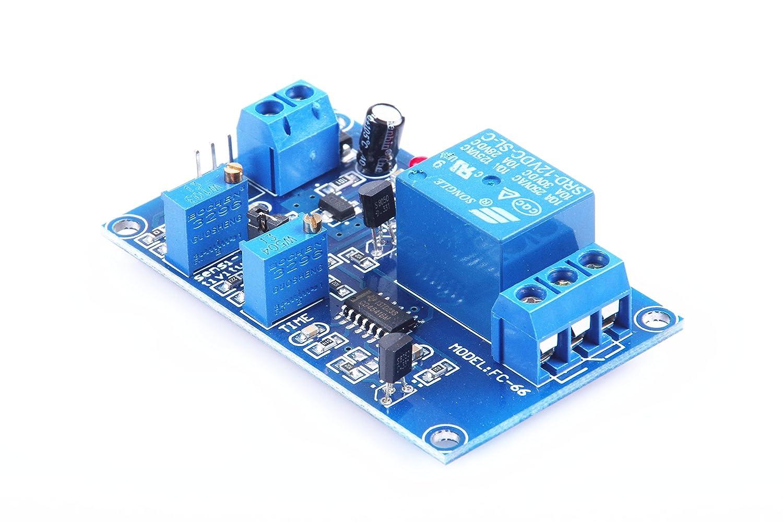 Knacro Srd 12vdc Sl C Dc5v Tcrt5000 Infrared To Dc30v Converter By 74hc14 Photoelectric Sensor Relay Module Optical Delay Light Version Non Reflective Trigger