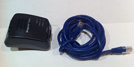 Sling Media SlingLink Turbo W1 SL300-100 Ethernet Over Power Adaptor 2E4.51.JK