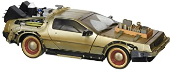 Back to the Future 2 Frozen Hover Time Machine Delorean 1//15 Vehicle DEC162558