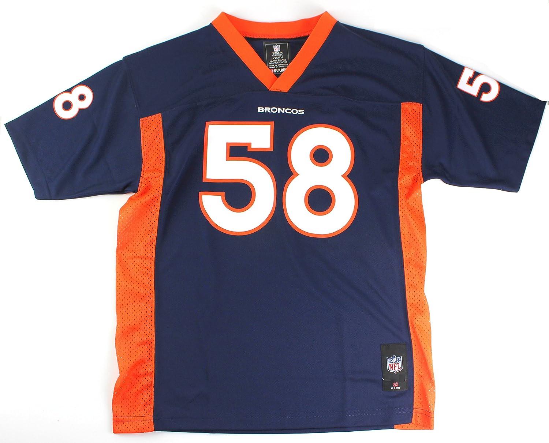 d37df00f outlet Von Miller #58 Denver Broncos NFL Youth Mid-tier Jersey Navy ...