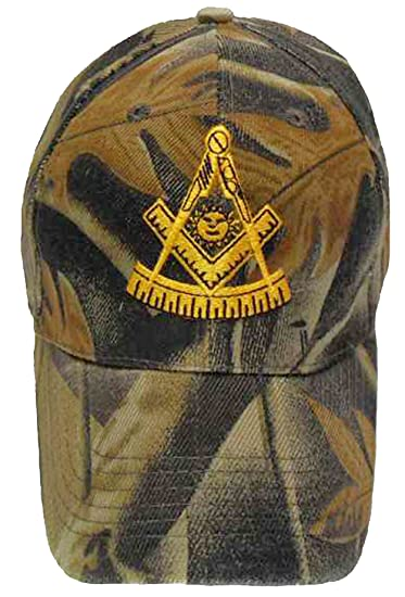 e90b0d311 Image Unavailable. Image not available for. Color: Buy Caps and Hats Mason  Hat Camouflage Masonic Baseball Cap Past Master Freemason Camo