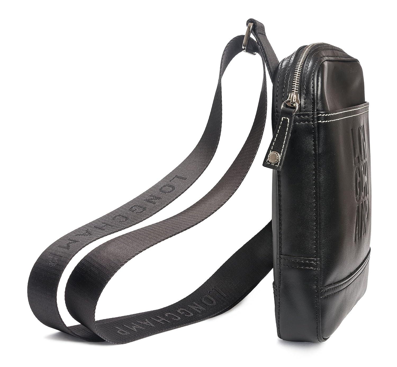 Amazon.com  Longchamp Cavalier Mocha Crossbody Brown Mens Bag New  1712189002  Shoes 5fbd8bae05921