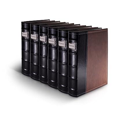 Bellagio Italia Brown Cd/ Dvd Storage Binder (pack Of 6)