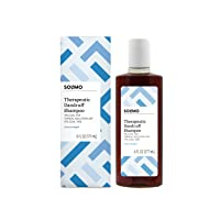 Amazon Brand - Solimo Therapeutic Dandruff Shampoo, Extra Strength, 6 fl oz