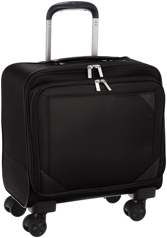 [エースドットジーン] ビステア ビジネストロリー 21 3.2kg キャスターストッパー付き 横型 機内持込可 21L 35cm 3.2kg 59081 B01LX4L209ブラック