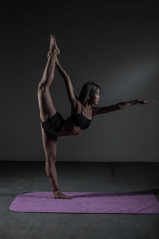 Respirar caliente - Original Yoga Mat w/solapa de conejo ...