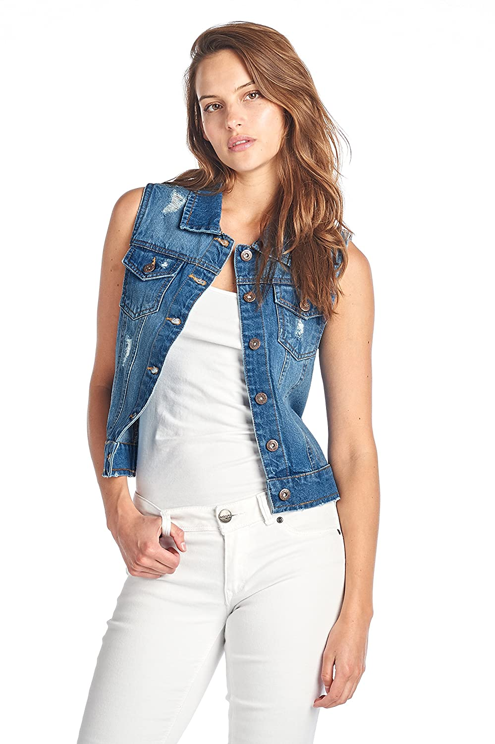 0cad0bede3 Blue Age Womens Destroyed Denim Jean Jackets - Our Jackets feature a  variety of Ripped and Distressed denim designs