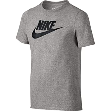 b86676cb7 Nike Kid's Futura Icon T-Shirt, Dark Grey Heather/(Black), XL ...