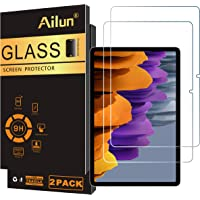 Ailun Screen Protector For Galaxy Tab S7 11Inch 2Pack Tempered Glass 9H Hardness 2.5D Edge Ultra Clear Anti Scratch Case…