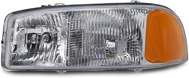 Depo 332-1181R-AC GMC Sierra//Yukon Passenger Side Replacement Headlight Assembly