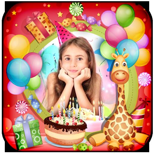 Birthday Photo Maker App (Birthday Cake With Name Edit)