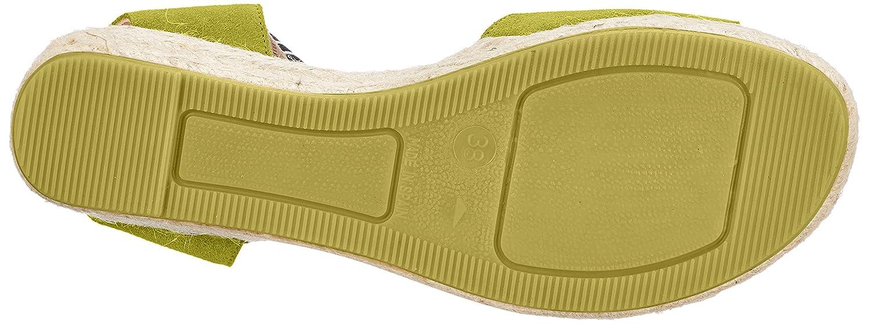FROT Bretoniere de la Bretoniere FROT Damen Espadrille Sandale Gelb (Mustard Yellow) 777116