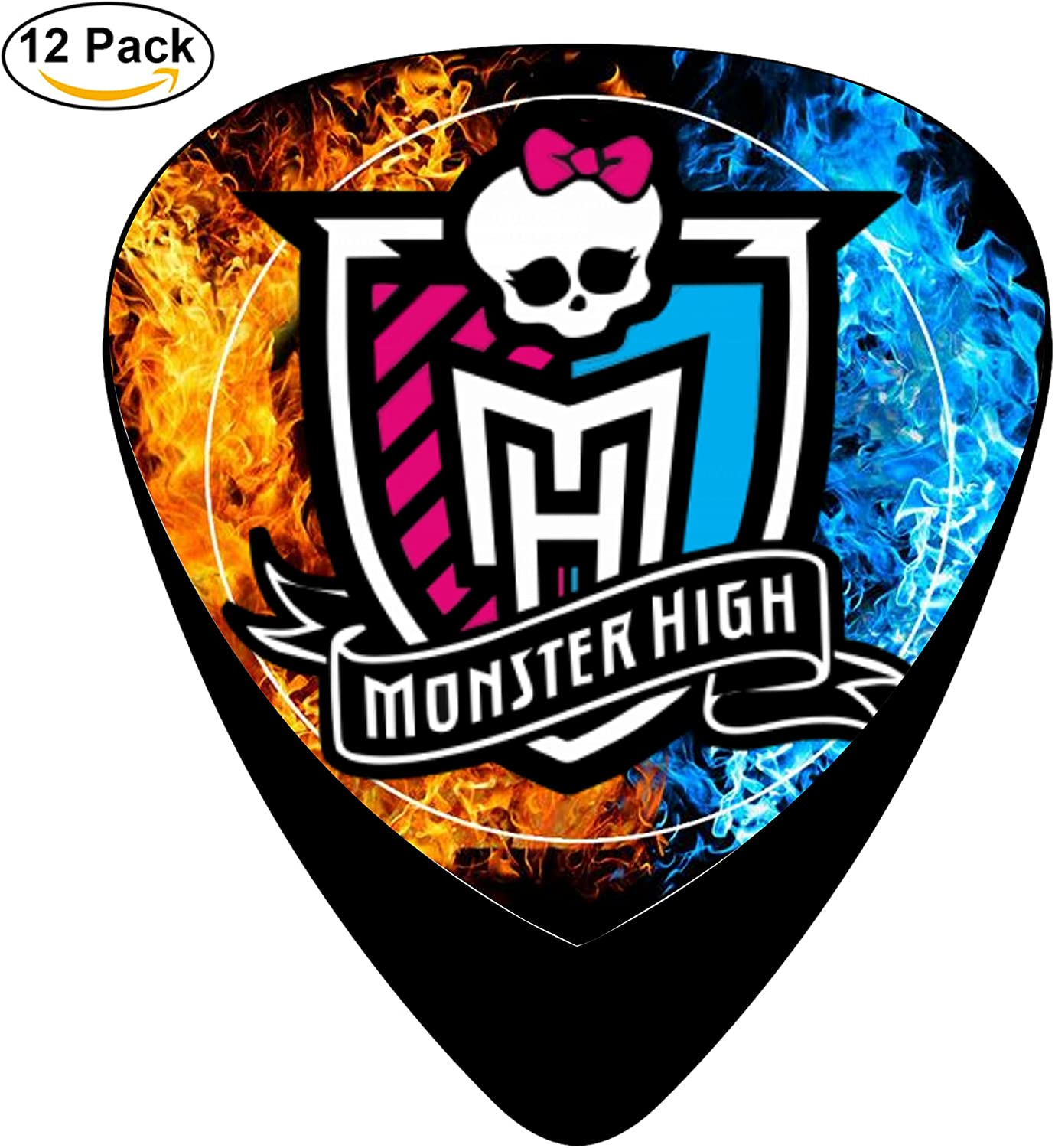 ZT Monster High Pack de 12 púas/púas para bajo Guitarra Pick ...