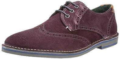 8701918ba Ted Baker Mens Jamfro Brogue 9-12757 Dark Purple 7 UK