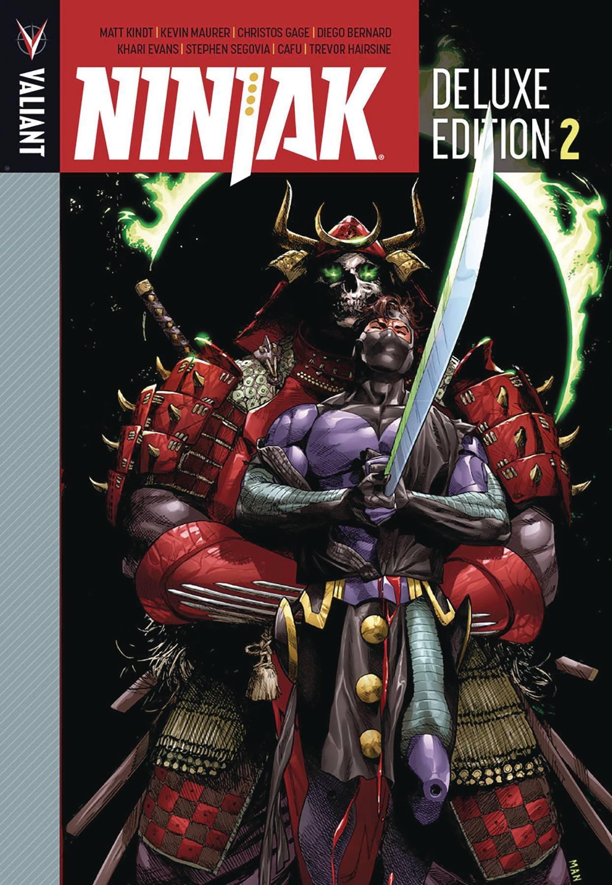 Ninjak Deluxe Edition Book 2: Matt Kindt, Kevin Maurer ...