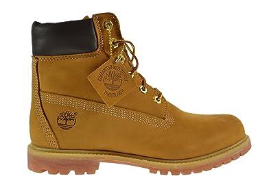 d279ffe78bad Timberland AF 6 Inch Premium Women s Boots Wheat Nubuck tb010361 (8.5 B(M)