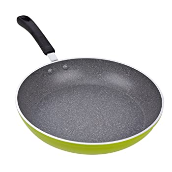 Cook N Home Stoneware Frying Pan