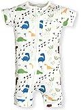 Frugal Organics Zipper Romper Short Sleeve Sizes NB- 24M   6 Patterns