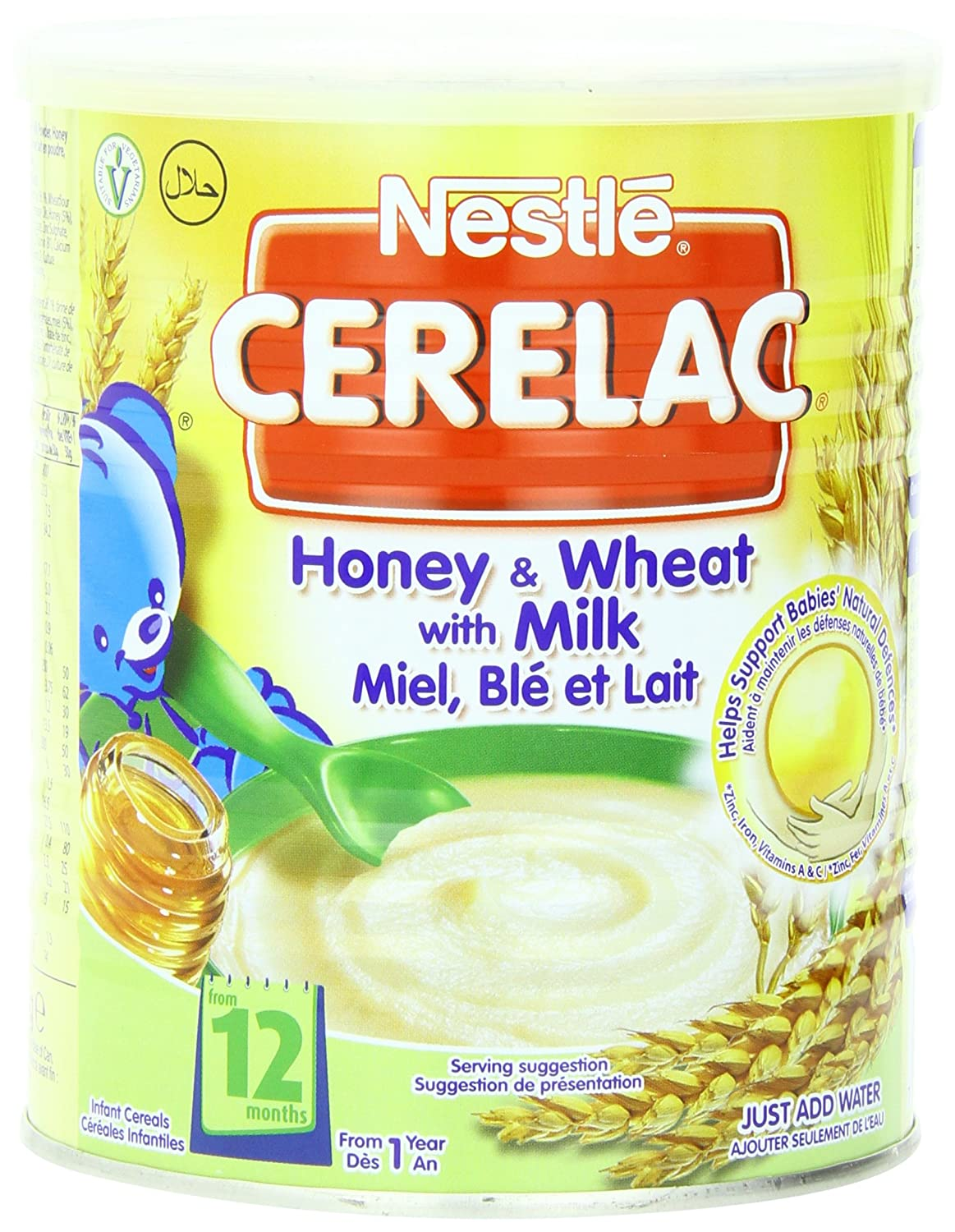 Nestl Cerelac Infant Cereals Honey And Wheat 400 g (Pack of 4) Nestle C003