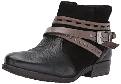 Miz Mooz Women's Dublin Ankle Boot, Black, 36 M EU (5.5-6