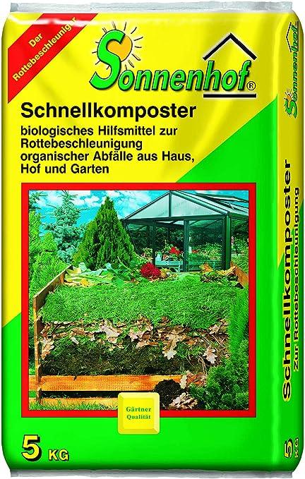 Sonnenhof 5 Kg Schnellkomposter Kompostbeschleuniger Komposthilfe Kompost Verottungshilfe Amazon De Garten