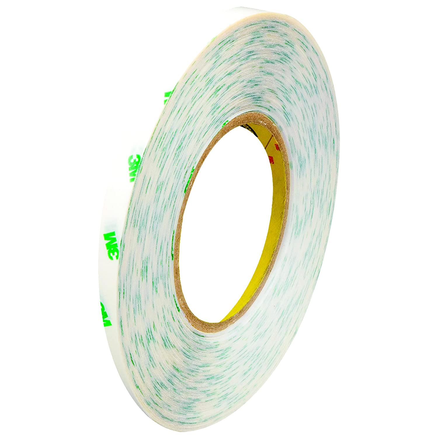 3M 9082 Adhesive Transfer Tape Clear 1//4 x 60 yds 2.0 Mil 3M Stock# 7010374598 Hand Rolls 6//Case