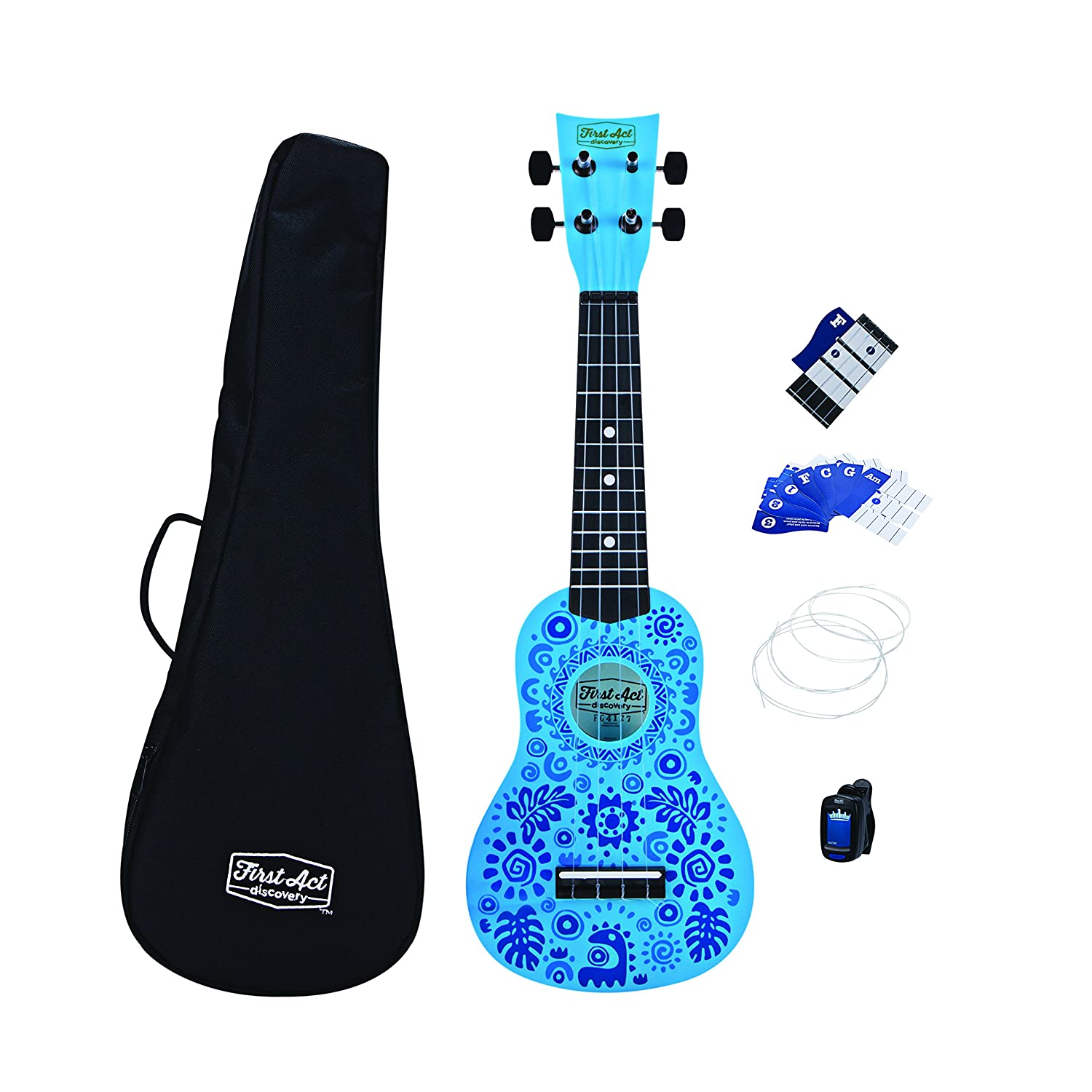 First Act Discovery Ukulele Starter Pack (FAD0138) First Act Inc.