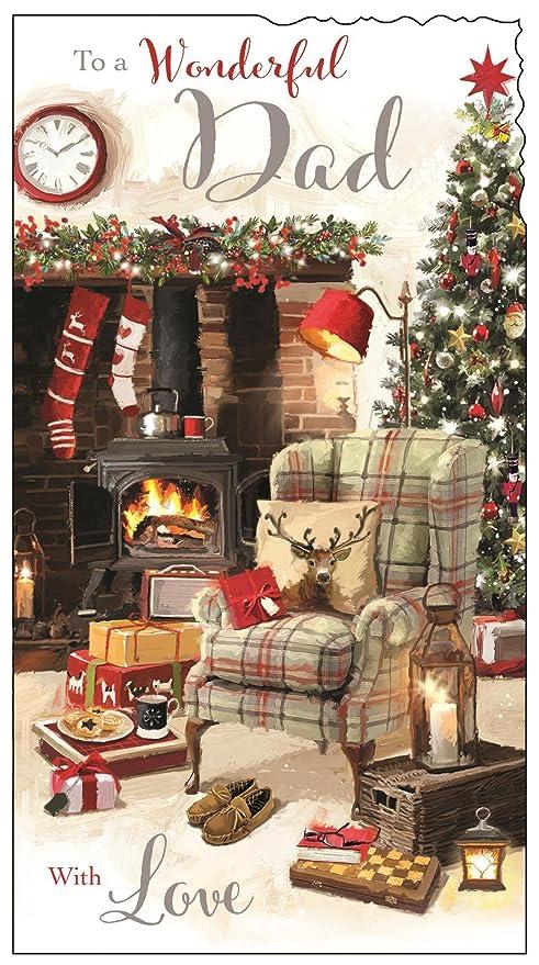Tarjetas Galore Online Jonny Javelin Dad Tarjeta de Navidad ...