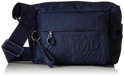 e594b0597d46d Mandarina Duck Damen Md20 Tracolla Umhängetaschen Blau (Dress Blue)  10x21x28.5 cm