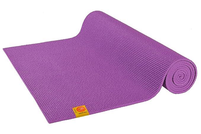Chin Mudra Alfombra de Yoga tintes Lavables no tóxicos – 183 cm x 61 cm x 4.5 mm