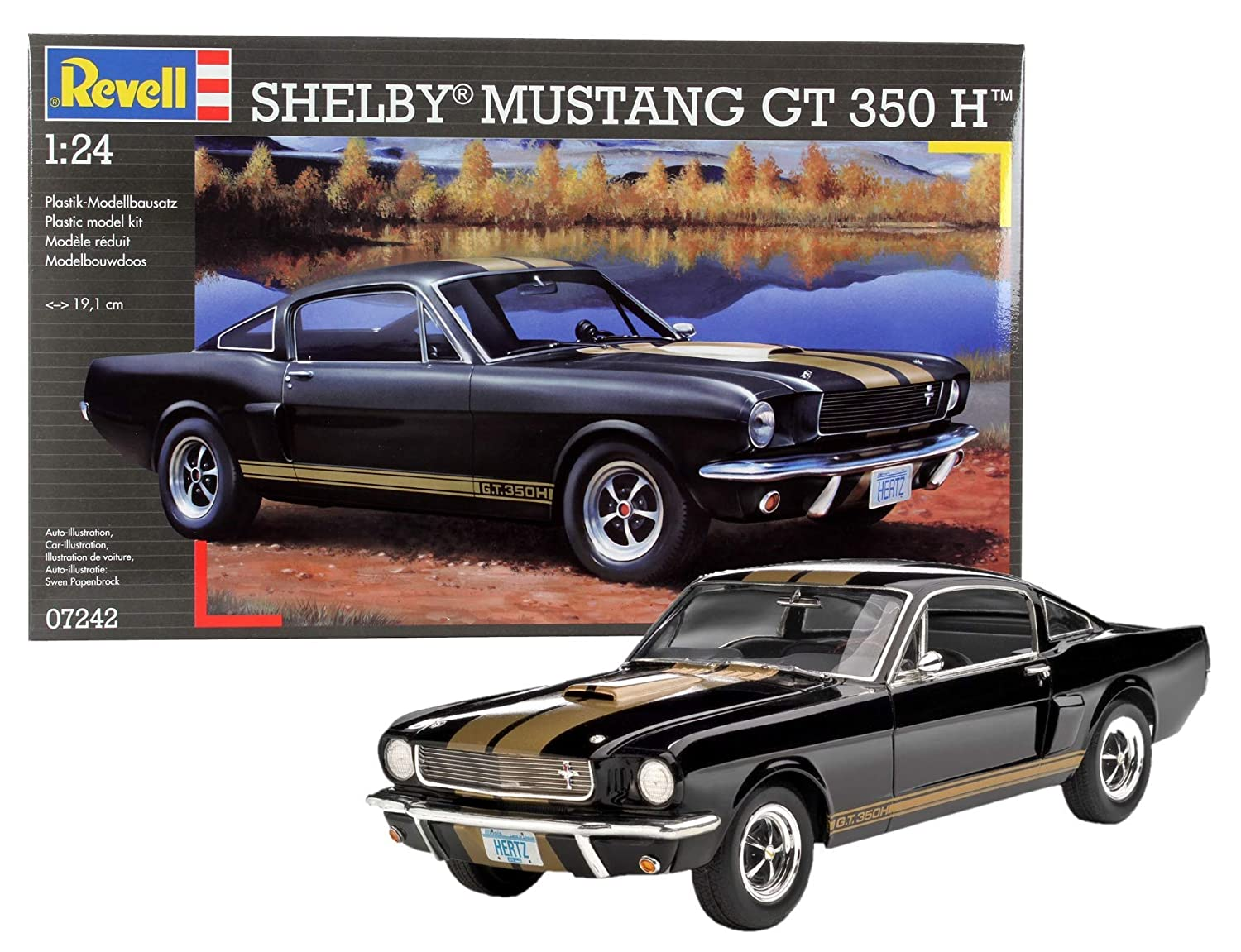 Revell 07242 shelby mustang gt 350 h scala 124