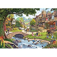 KS Games Summer Village Stream Yapboz