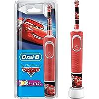 Oral-B Kids Oplaadbare Elektrische Tandenborstel - 1 Handvat met Disney Pixar Cars, Voor Kinderen Vanaf 3 Jaar