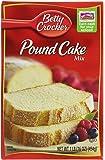 Betty Crocker Pound Cake Mix 16oz Box (Pack of 6)