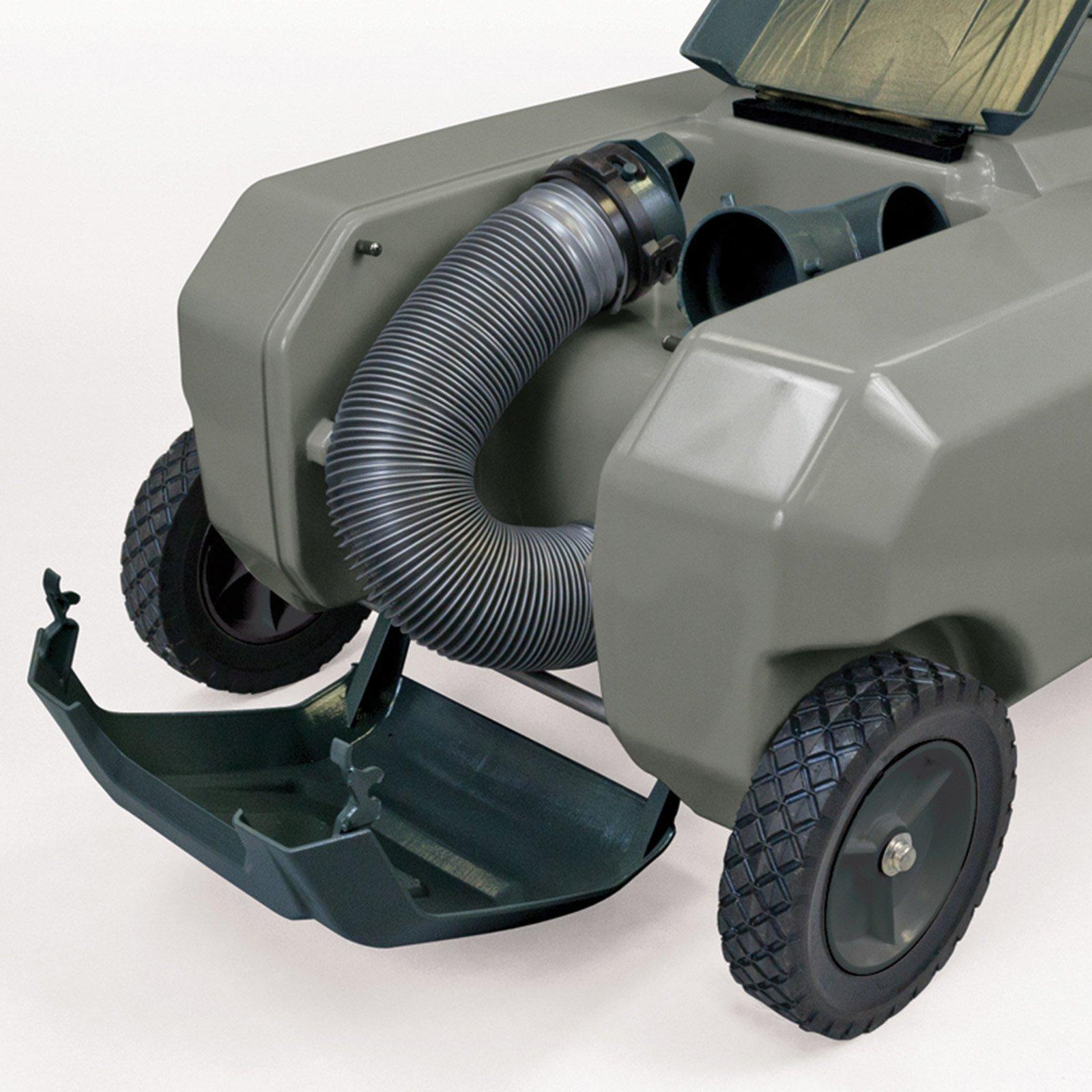 SmartTote2 RV Portable Waste Tote Tank - 4 Wheels - 35 Gallon - Thetford 40519 by SmartTote2 (Image #3)