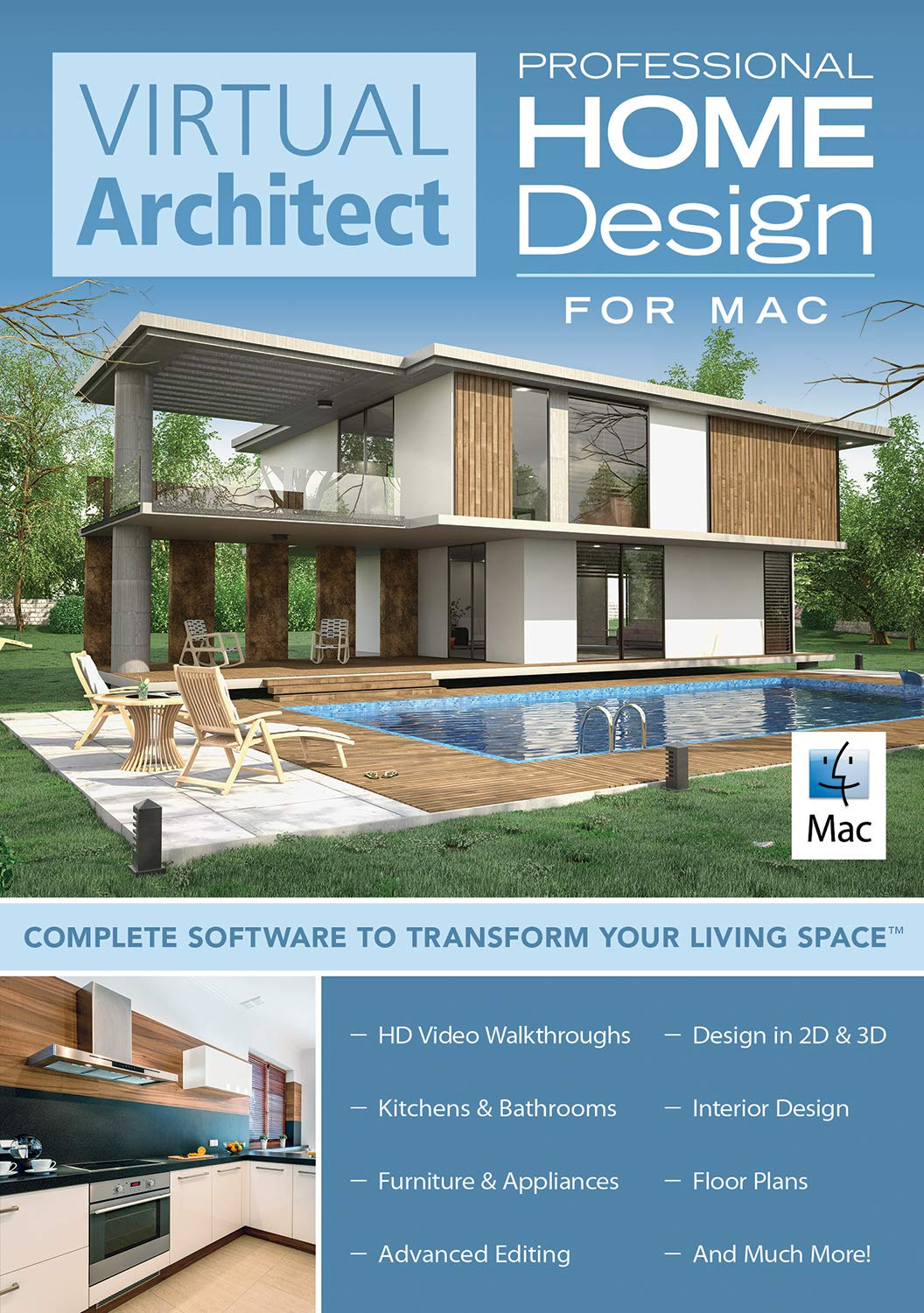 Virtual Architect Home Design for Mac Professional [Mac Download] by Avanquest